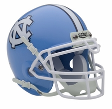 North Carolina Tar Heels Schutt Authentic Mini Helmet