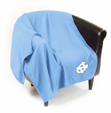 North Carolina Tar Heels Sweatshirt Throw Blanket