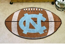 "North Carolina Tarheels 22""x35"" UNC Football Floor Mat"