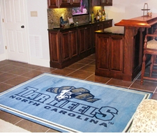 North Carolina Tarheels 4'x6' Floor Rug