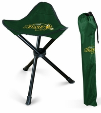 North Dakato State Bison Folding Stool