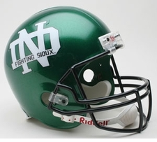 North Dakota Fighting Sioux Riddell Deluxe Replica Helmet