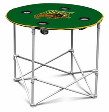 North Dakota State Bison Round Tailgate Table
