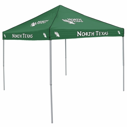 North Texas Mean Green Hunter Green Logo Canopy Tailgate Tent