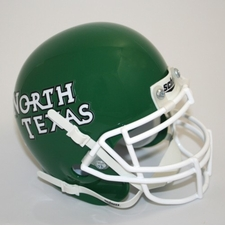 North Texas Mean Green Schutt Authentic Mini Helmet