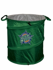 North Texas Mean Green Tailgate Trash Can / Cooler / Laundry Hamper