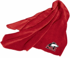Northern Illinois Huskies Fleece Throw