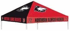 Northern Illinois Huskies Red / Black Logo Tent Replacement Canopy