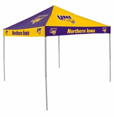Northern Iowa Panthers Purple / Yellow Logo Canopy Tailgate Tent