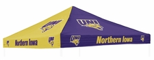 Northern Iowa Panthers Purple / Yellow Logo Tent Replacement Canopy