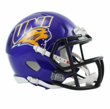 Northern Iowa Panthers Riddell Speed Mini Helmet