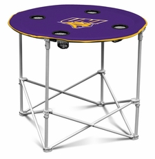 Northern Iowa Panthers Round Tailgate Table
