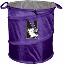 Northwestern Wildcats Tailgate Trash Can / Cooler / Laundry Hamper