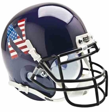 Northwestern Wildcats USA Flag 'N' Schutt Authentic Mini Helmet