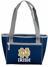 Notre Dame Fighting Irish 16 Can Cooler Tote