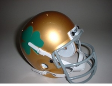 Notre Dame Fighting Irish 1959 Schutt Throwback Mini Helmet