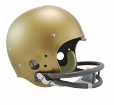 Notre Dame Fighting Irish 1960-62 Riddell NCAA TK 2-Bar Suspension Throwback Full Size Helmet