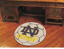 "Notre Dame Fighting Irish 27"" Soccer Ball Floor Mat"
