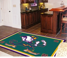 Notre Dame Fighting Irish 5'x8' Floor Rug