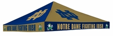 Notre Dame Fighting Irish Gold / Navy Checkerboard Canopy