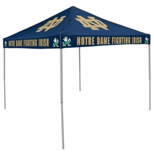 Notre Dame Fighting Irish Navy Logo Canopy Tailgate Tent