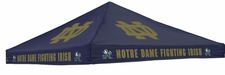 Notre Dame Fighting Irish Navy Logo Tent Replacement Canopy