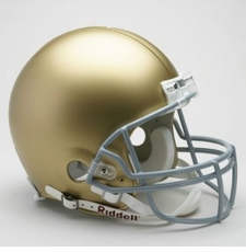 Notre Dame Fighting Irish Riddell Pro Line Authentic Helmet