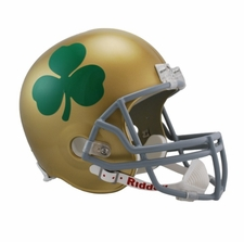 Notre Dame Fighting Irish Shamrock Riddell Deluxe Replica Helmet