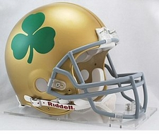 Notre Dame Fighting Irish Shamrock Riddell Pro Line Authentic Helmet