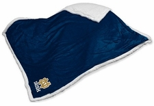 Notre Dame Fighting Irish Sherpa Blanket