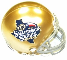 Notre Dame Fighting Irish Texas Shamrock Series Riddell Replica Mini Helmet