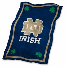Notre Dame Fighting Irish UltraSoft Blanket