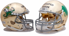 "Notre Dame Fighting Irish ""Undefeated Season"" Schutt Authentic Full Size Helmet"