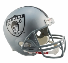 Oakland Raiders 1960-63 Throwback Riddell Deluxe Replica Helmet