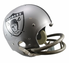 Oakland Raiders Classic TK 1960-63 Throwback Riddell Replica Helmet
