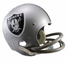 Oakland Raiders Classic TK 1964-Present Throwback Riddell Replica Helmet