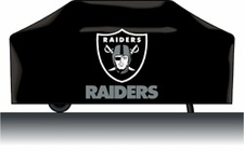 Oakland Raiders Deluxe Barbeque Grill Cover