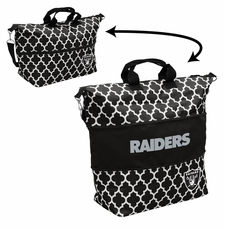 Oakland Raiders  - Expandable Tote (patterned)