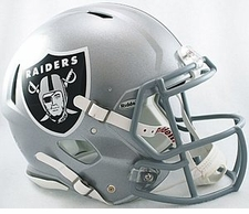 Oakland Raiders Revolution Speed Riddell Authentic Helmet