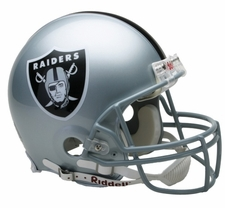 Oakland Raiders Riddell Full Size Authentic Helmet