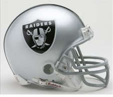 Oakland Raiders Riddell Replica Mini Helmet