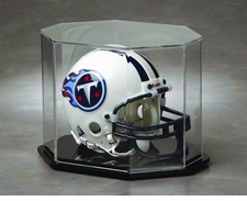 Octagon (Elongated) Mini Helmet Display Case