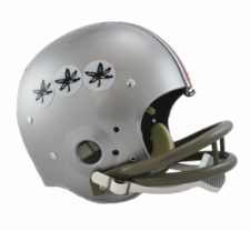 Ohio State Buckeyes 1968 Riddell NCAA TK 2-Bar Suspension Throwback Full Size Helmet