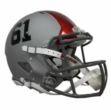Ohio State Buckeyes 2011 Pro Combat Riddell Revolution Speed Authentic Helmet