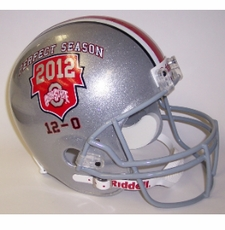 Ohio State Buckeyes 2012 Perfect Season Riddell Deluxe Replica Helmet