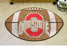 "Ohio State Buckeyes 22""x35"" Football Floor Mat"