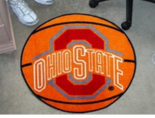 "Ohio State Buckeyes 27"" Basketball Floor Mat"