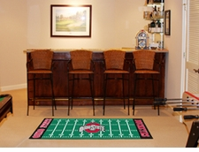 "Ohio State Buckeyes Football Runner 30""x72"" Floor Mat"