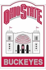 Ohio State Buckeyes Nostalgic Metal Sign