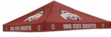 Ohio State Buckeyes Red Logo Tent Replacement Canopy